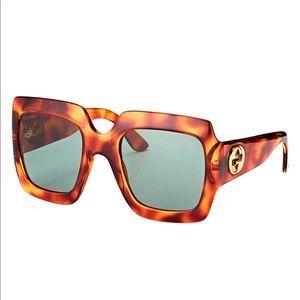 Large Gucci square 🕶 sunglasses